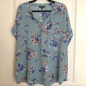 Floral blouse NWT